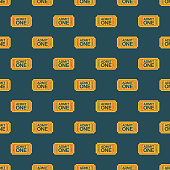 A seamless pattern, which can be tiled on all sides. File is built in the CMYK color space for optimal printing and can easily be converted to RGB. No gradients or transparencies used, the shapes have been placed into a clipping mask.