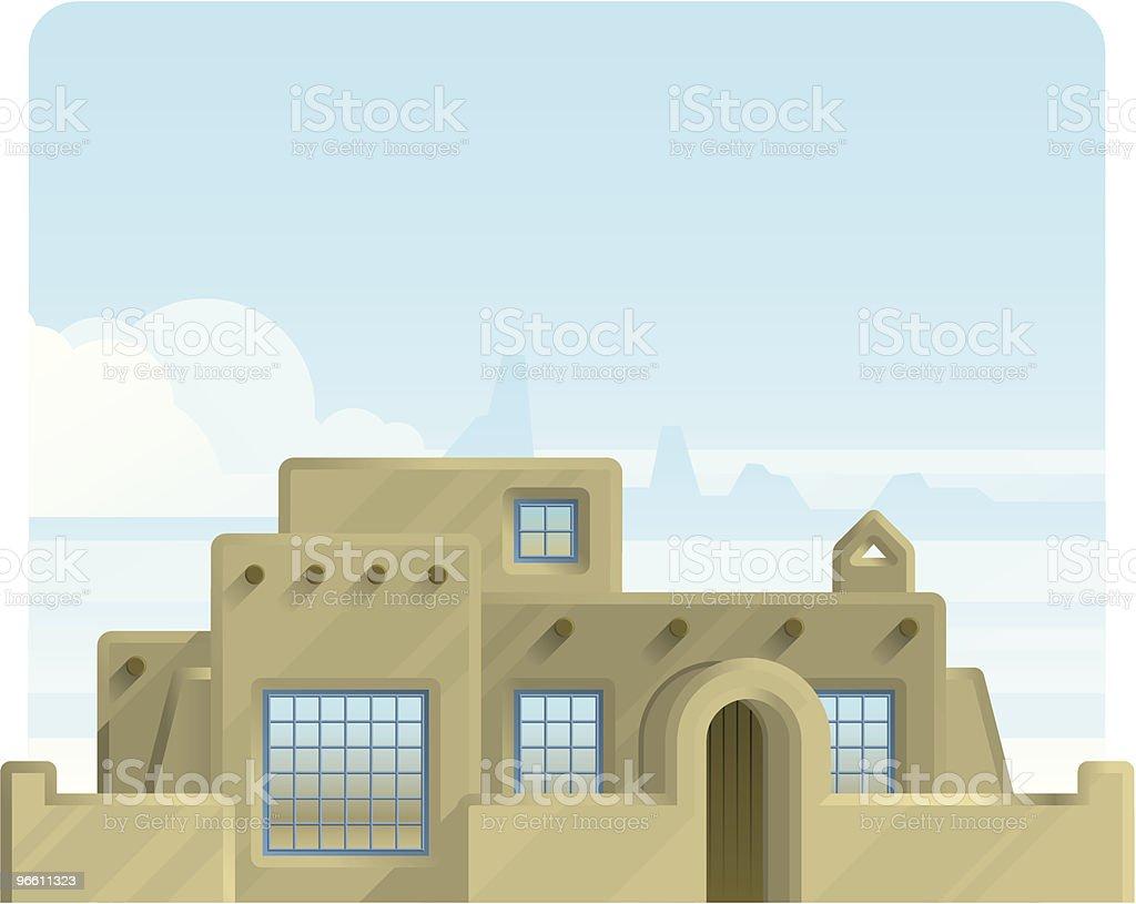 adobe home - Royaltyfri Adobe vektorgrafik