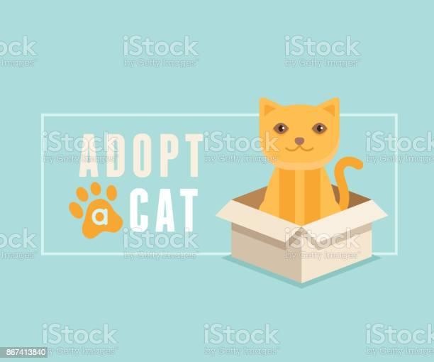 Adopt a cat banner design vector id867413840?b=1&k=6&m=867413840&s=612x612&h=icwrx3oku8wmphnyd7tcgyjz64lsw70pg3sikk an8s=