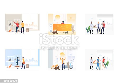 istock Adopt do not shop set 1194896925