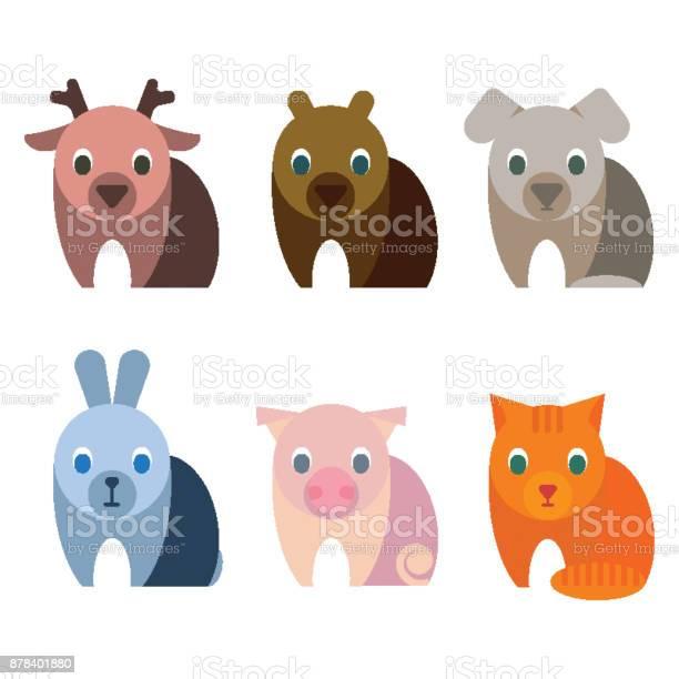 Adorable baby animals with big kind innocent eyes vector id878401880?b=1&k=6&m=878401880&s=612x612&h=t1ubkglvs bzegtgdrp2jd3npq6qiof1e2hu8nuqgds=