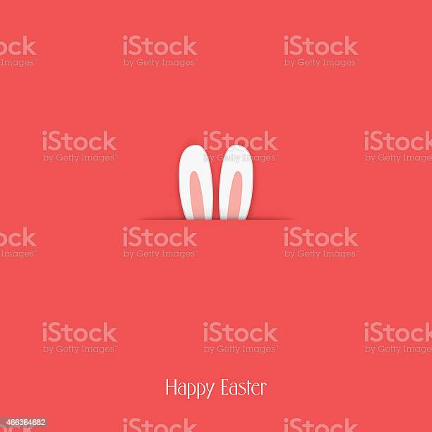 Adorable happy easter postcard template with bunny hiding and ears vector id466364682?b=1&k=6&m=466364682&s=612x612&h=oavncj8kb37bez0vlpnpzusa w6det4bnrwtmwg8rne=