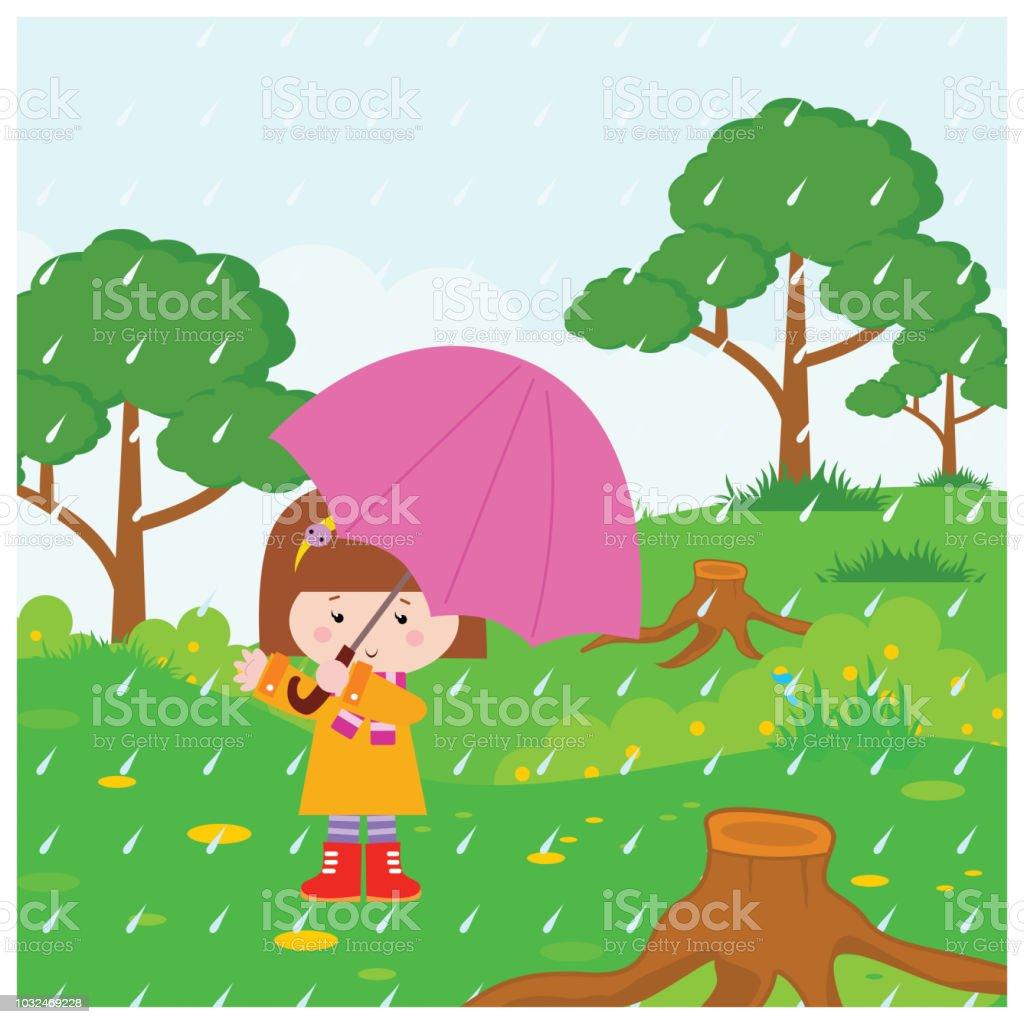 Adorable Petite Fille Semble Heureuse Et Joyeux Porte Un