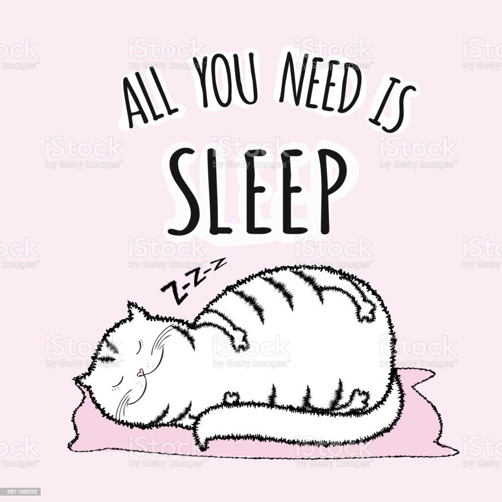 Schlafen lustig Lustige Comic