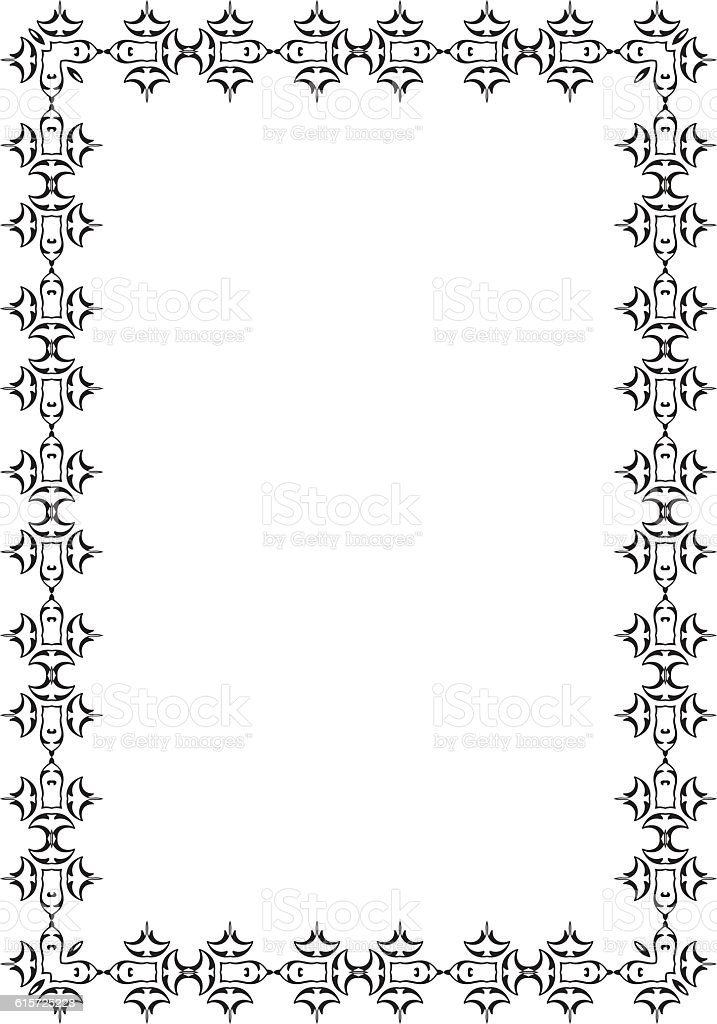 Adornment Nice Frame Stock Vector Art & More Images of Backgrounds ...