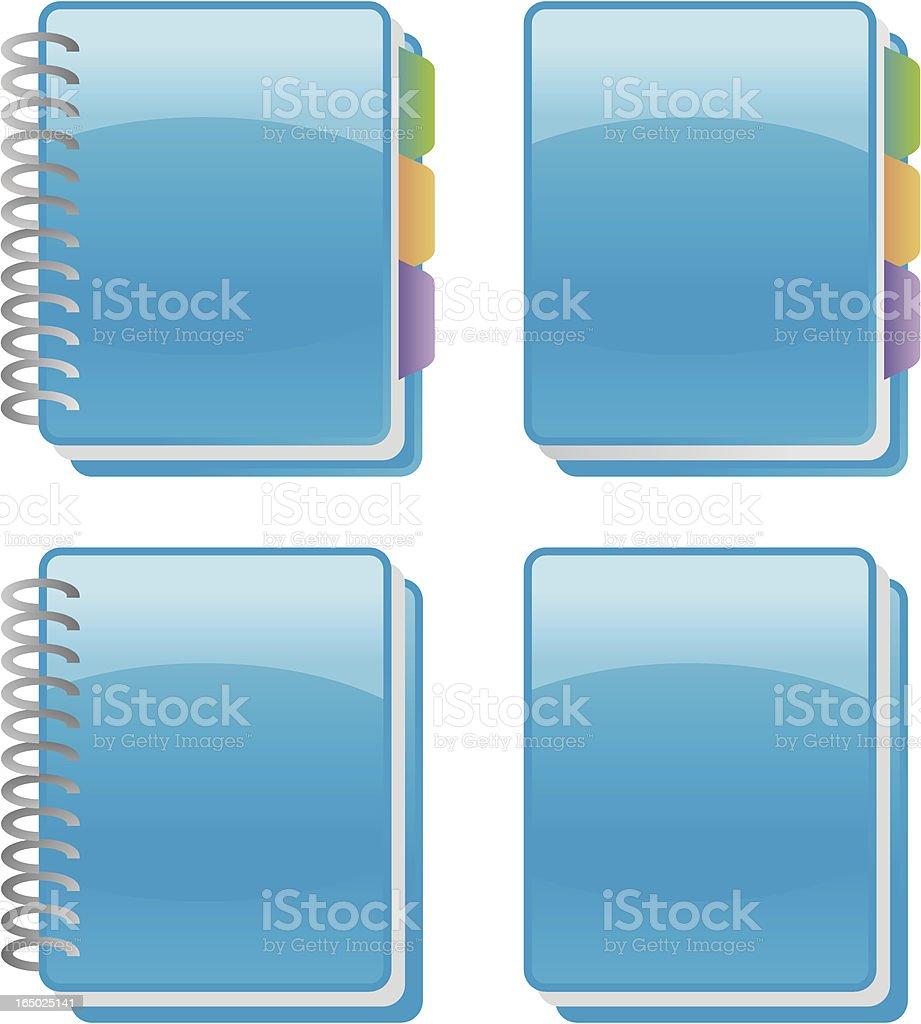 adressbook, notebook, book, diary ... royalty-free stock vector art