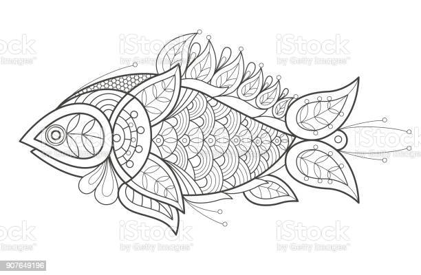 Free black and white fish Images, Pictures, and Royalty