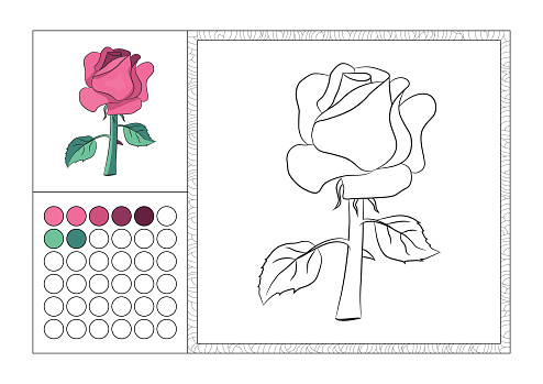 Free Download Of Book With Rose Flower Vector Graphic