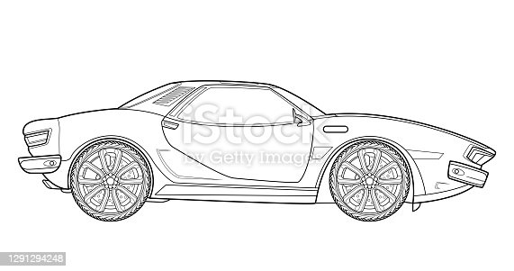 Adult coloring page for book and drawing. vector . Black contour sketch illustrate Isolated on white background.