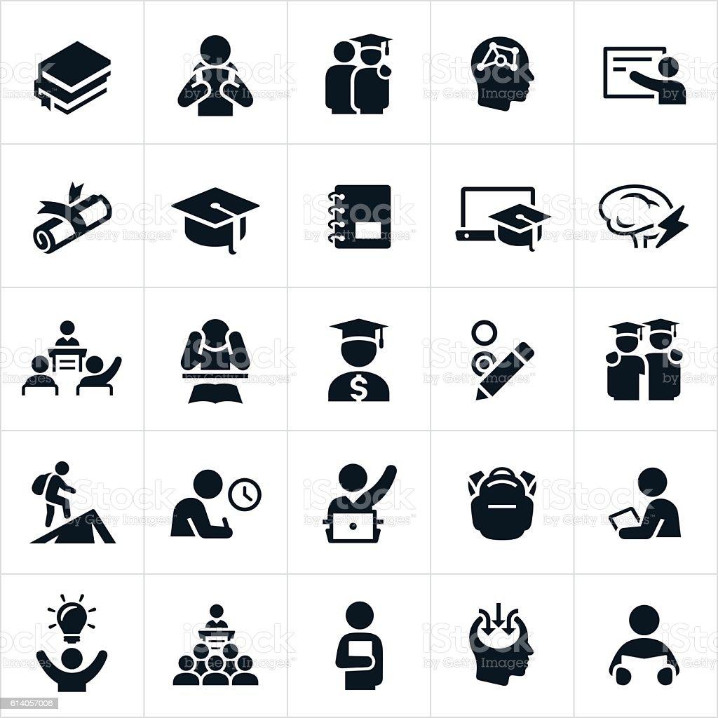Advanced Education Icons