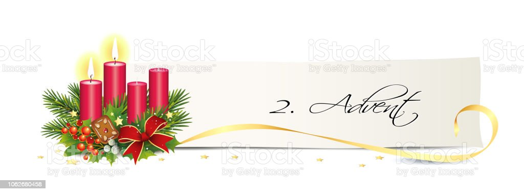 Image result for advent 2 candles