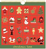 24 classic christmas icons for the days of december. Please see some similar pictures in my lightboxs: