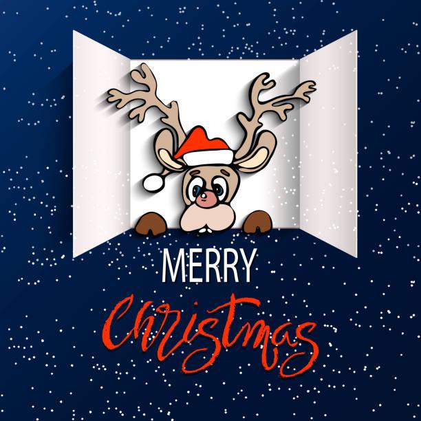 advent-kalender-türen öffnen - adventskalender tür stock-grafiken, -clipart, -cartoons und -symbole