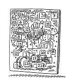 Advent Calendar Drawing
