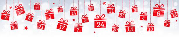 illustrations, cliparts, dessins animés et icônes de calendrier de l'avent - calendrier de l'avent