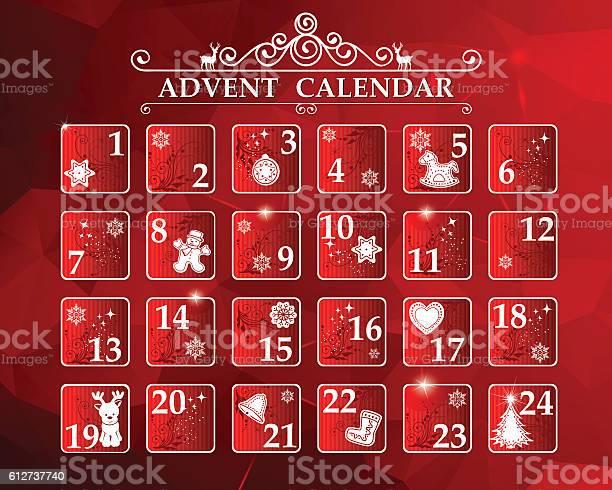 Advent Calendar-vektorgrafik och fler bilder på Advent