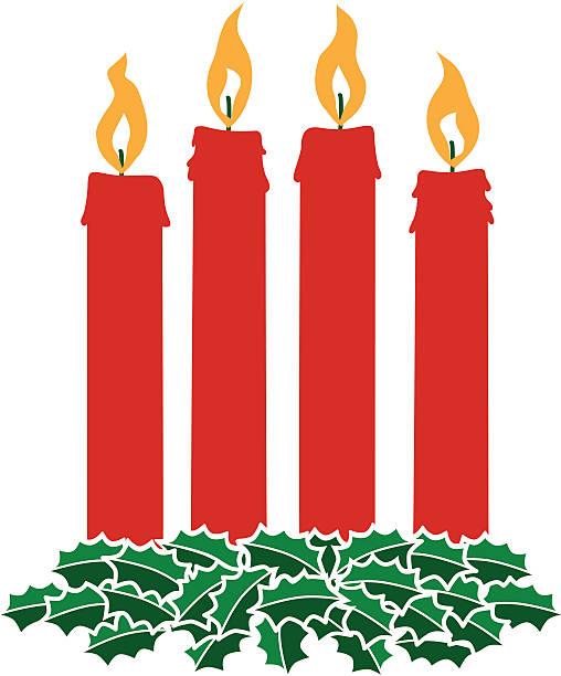 ilustraciones, imágenes clip art, dibujos animados e iconos de stock de advent corona - adviento