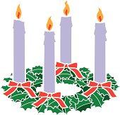 istock advent wreath 482364295