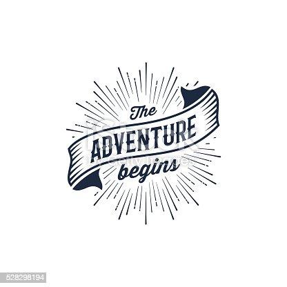 istock Adventure begins blue 528298194