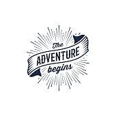 Adventure begins blue