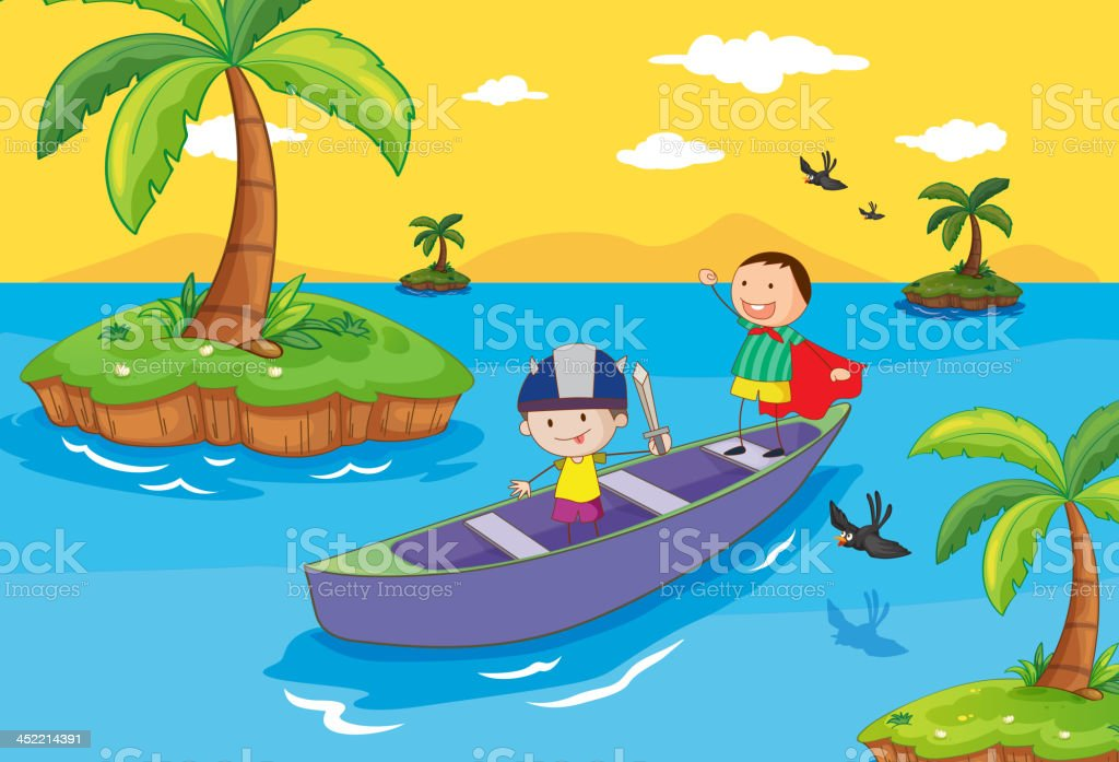 Adventure royalty-free stock vector art