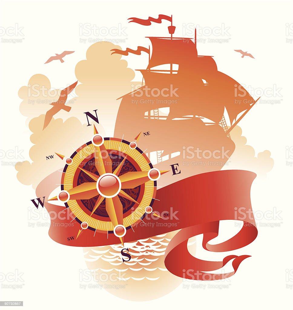 Adventures design vector art illustration