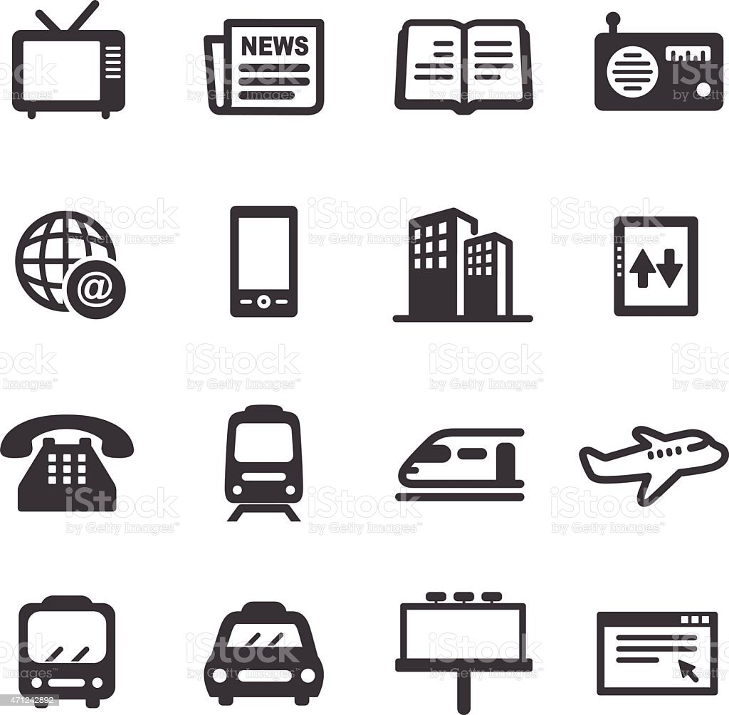 Advertising and Media Icons - Acme Series