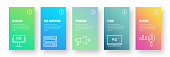 Advertising and Promotion Infographic Design - Modern Colorful Gradient Style