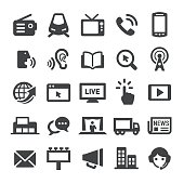 Advertising Methods Icons