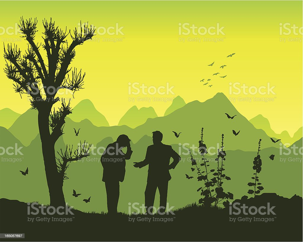 Advice in the mountains royalty-free advice in the mountains stock vector art & more images of achievement