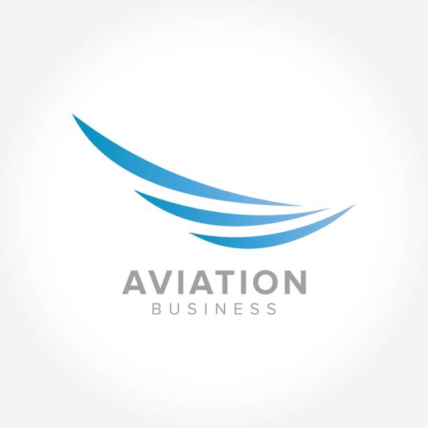 Aerospace Industry, vector illustration an amazing symbol for your Aerospace Industry, vector illustration business aircraft wing stock illustrations