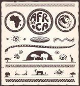Africa Design Elements