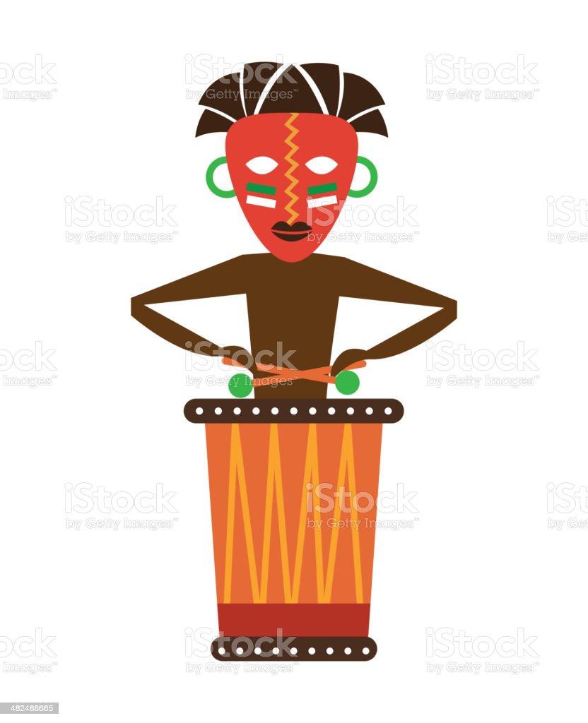 Africa Design vector art illustration