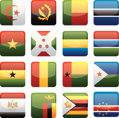 Africa Flags Collection