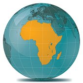 Africa Highlight Planet Earth