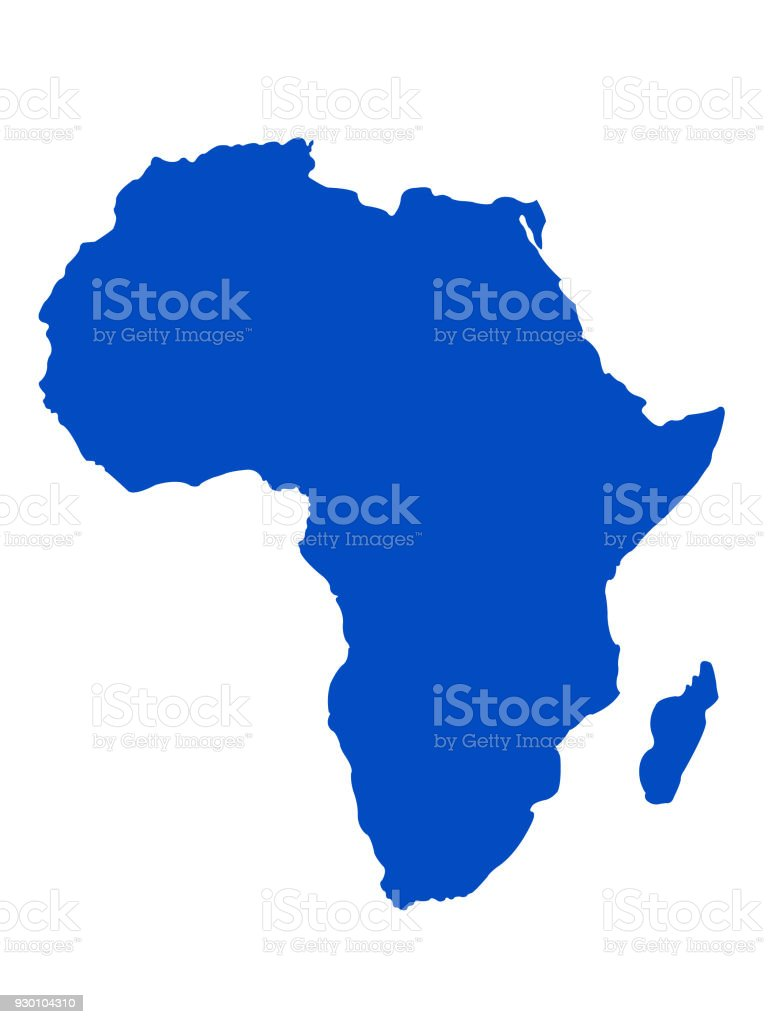 Africa map royalty-free africa map stock illustration - download image now