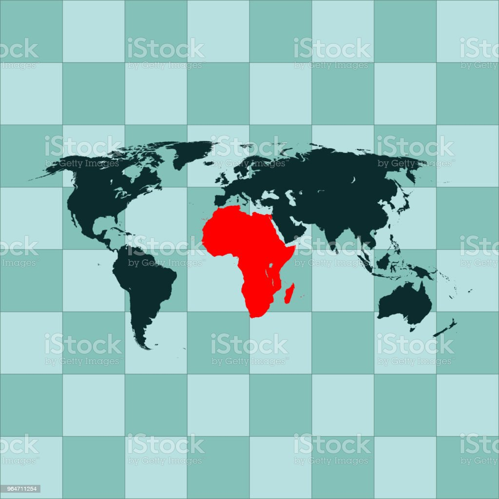 Africa map royalty-free africa map stock vector art & more images of abstract