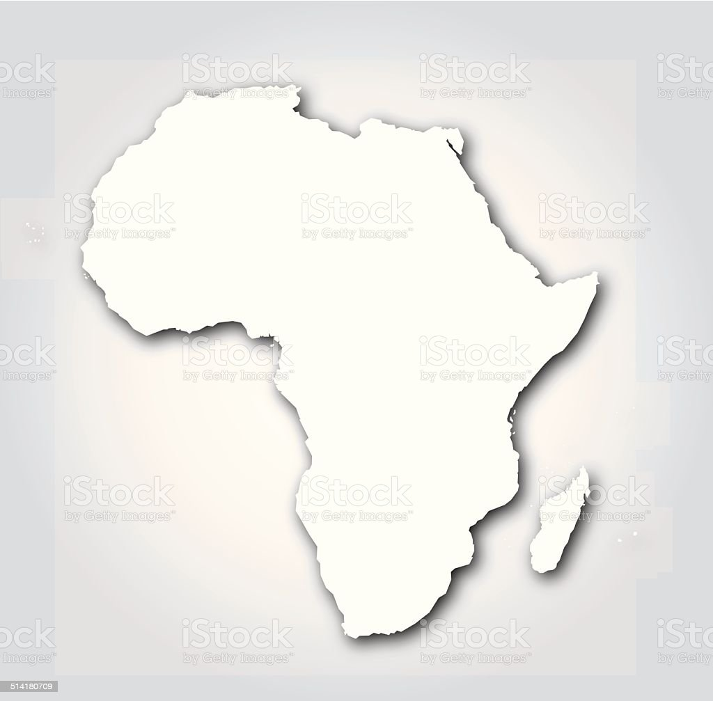 Africa silhouette white stock vector art more images of africa africa silhouette white royalty free africa silhouette white stock vector art amp more images gumiabroncs Choice Image