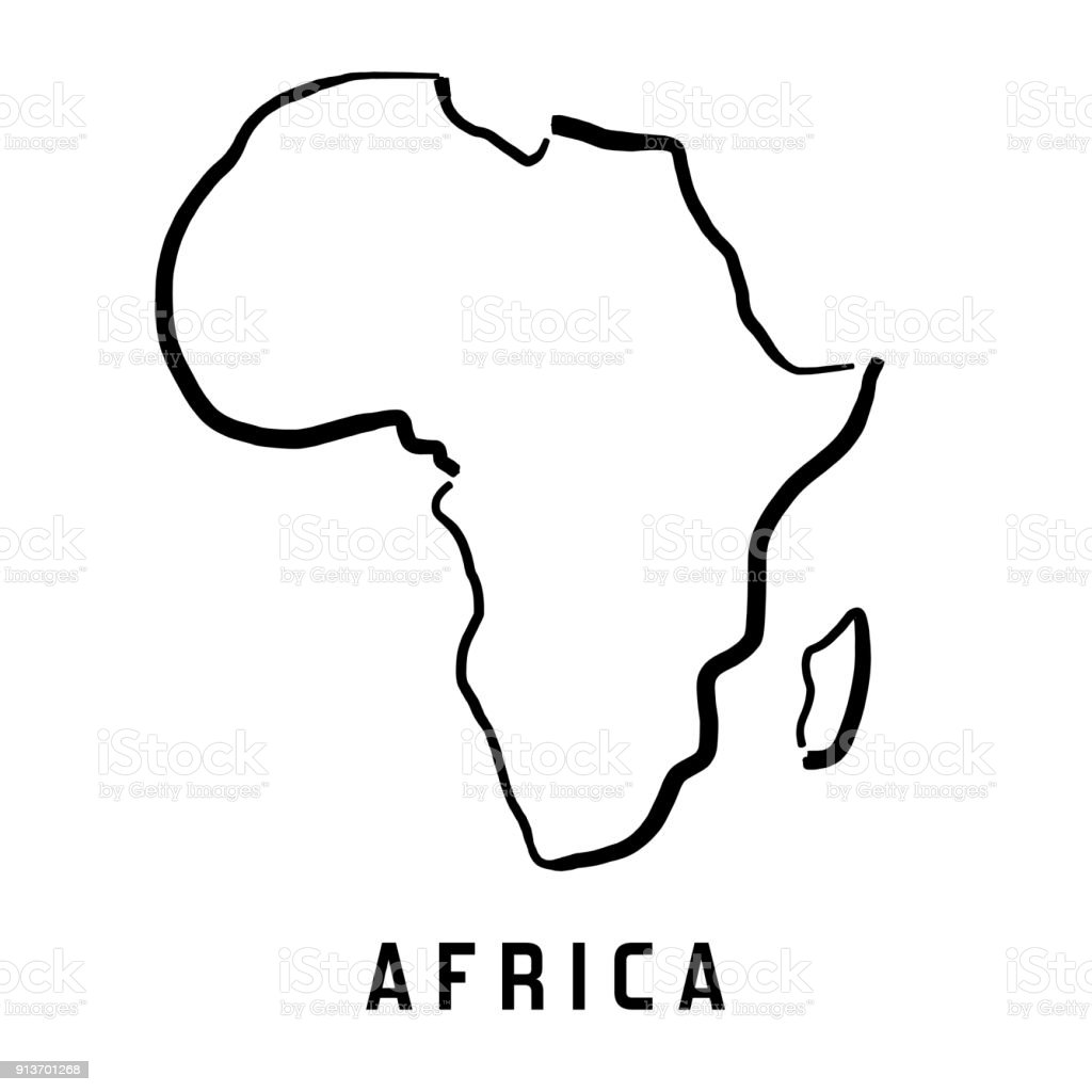 Africa Simple Map Royalty Free Africa Simple Map Stock Vector Art U0026amp;  More Images