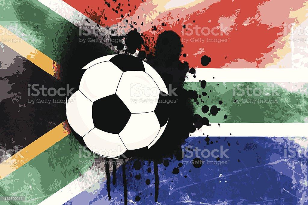 Afrika Weltmeisterschaft 2010 – Vektorgrafik