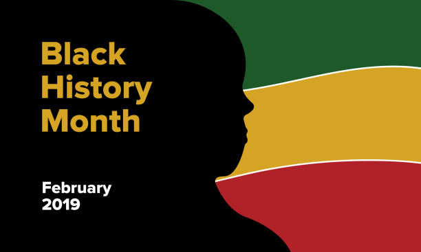 African American History or Black History Month African American History or Black History Month. Celebrated annually in February in the USA and Canada black history month stock illustrations