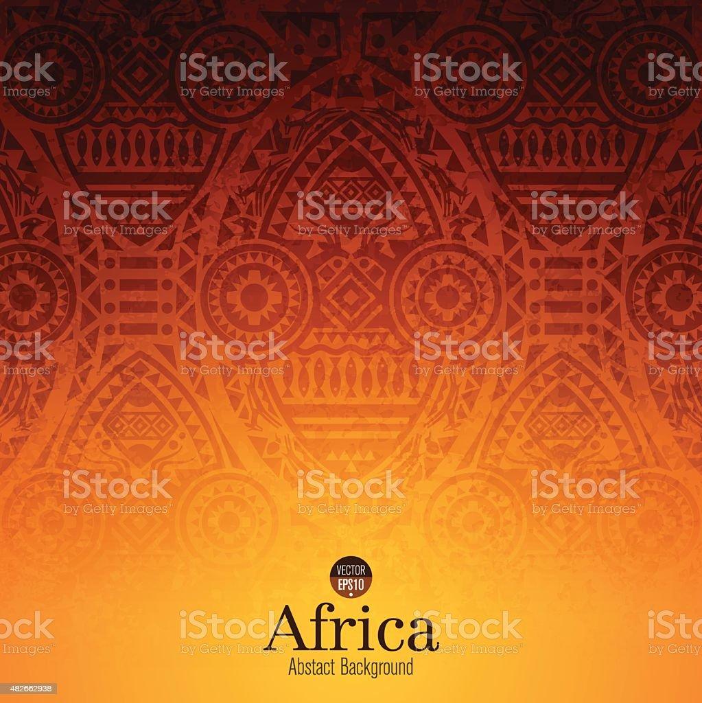 Arte africana designs de fundo. - ilustração de arte em vetor