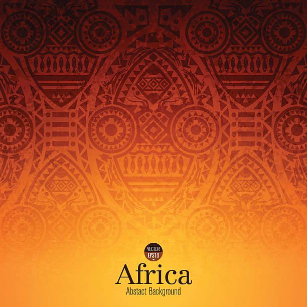african art background design. - africa 幅插畫檔、美工圖案、卡通及圖標