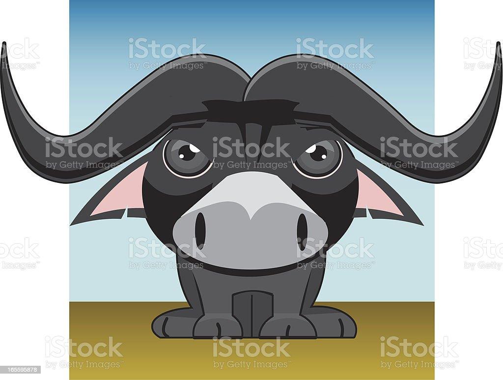 Búfalo africano ilustración de búfalo africano y más banco de imágenes de animal libre de derechos