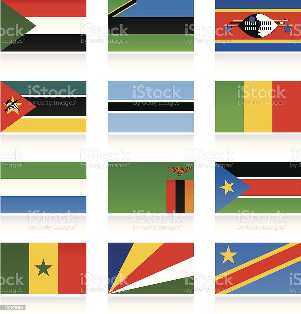 african country flags stock vector art more images of africa