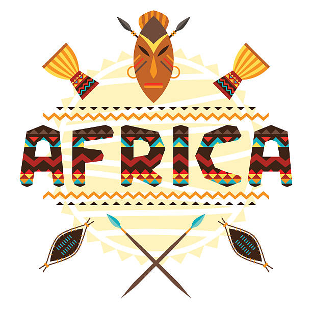 Royalty Free African Mask Clip Art, Vector Images