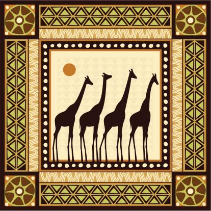 African Frame Scene