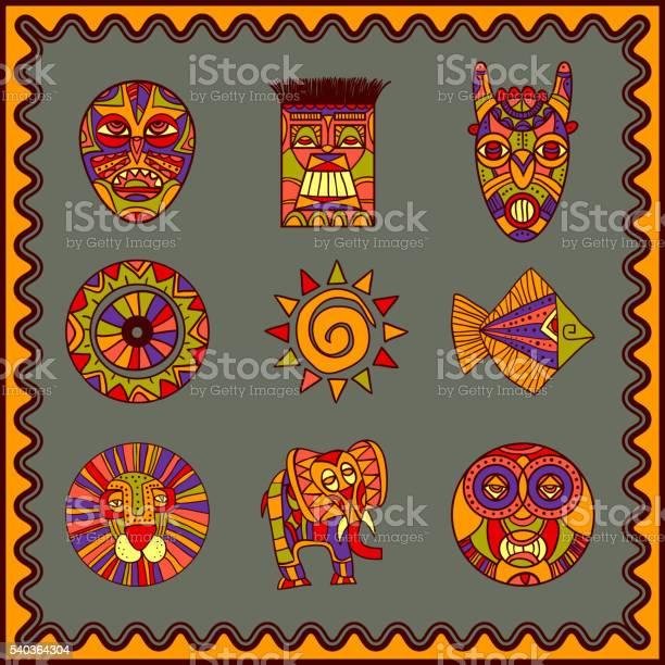 African hand drawn art icons set vector id540364304?b=1&k=6&m=540364304&s=612x612&h=nl6tfaetnjosqoxhbed7hfv9zn7ukzwieoajvbln6c0=