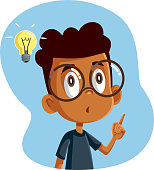 istock African Male Student Having a Clever Idea 1293678742