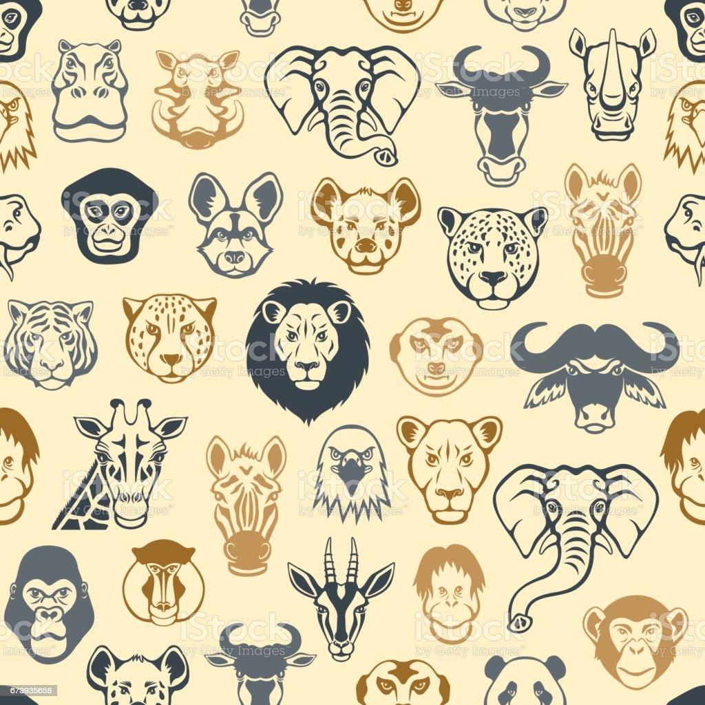 African Pattern – Vektorgrafik